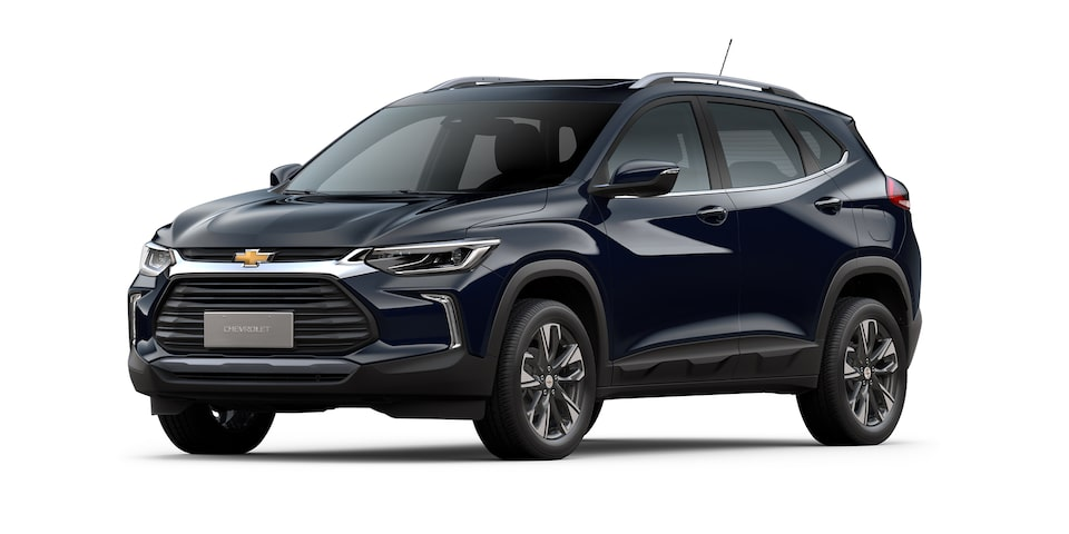 Chevrolet Tracker 2021 color azul lunar