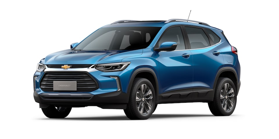 Chevrolet Tracker 2021 color azul
